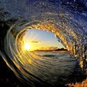 Морские волны от фотографа Clark Little