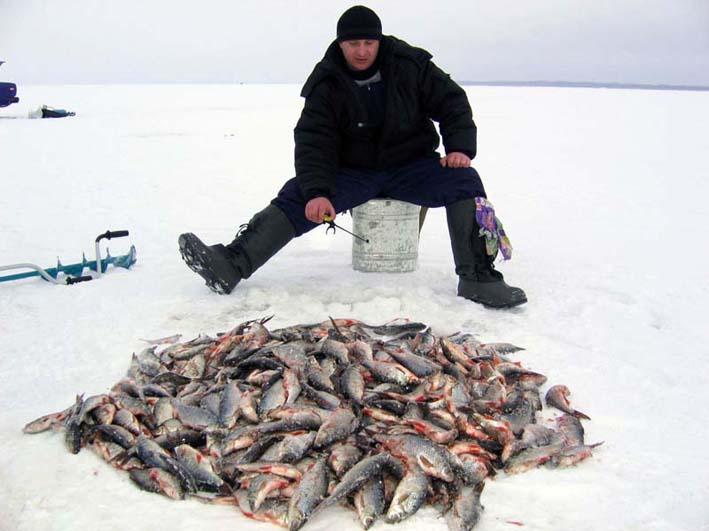 Зимняя рыбалка, снасти для зимней рыбалки
