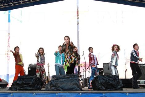 Гости Парка смогли стать участниками масштабного концертного представления