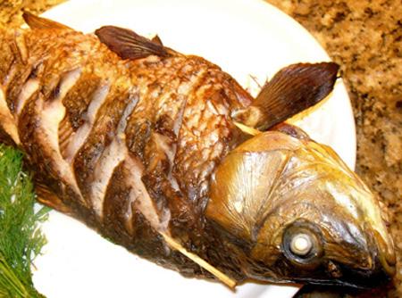 запеченная рыба, рецепты из рыбы