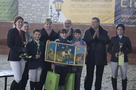 Соревнования по конкуру в КСК Левадия, День Святого Трифона