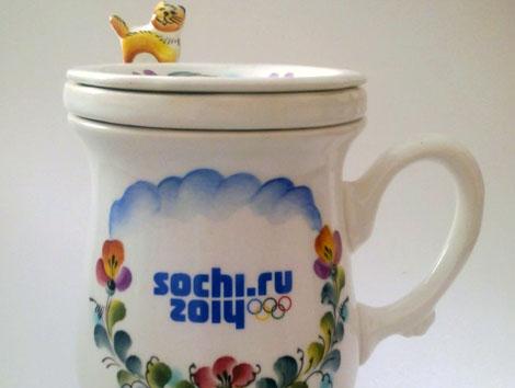 чашки с символикой сочи