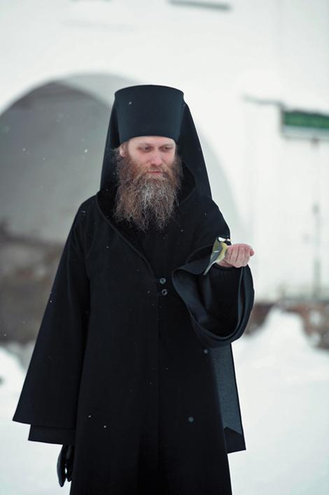 Наместник Соловецкого монастыря архимандрит Порфирий