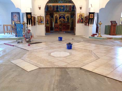 Национальный Фонд Святого Трифона в сентябре оказал помощь Никольскому храму в пос.Володарского