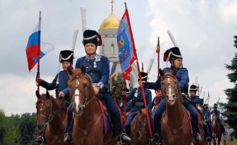 Конный поход Москва-Париж идет по Германии
