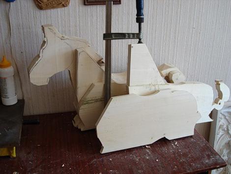 Лошадка качалка Как сделать