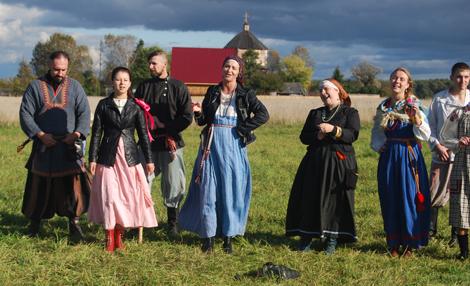 Молодежный фольклорный фестиваль «Новолетие»