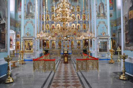 Летний храм  Владимирской Божией Матери