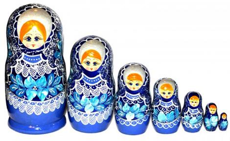 Полхов-майданская роспись: Заря на шкатулке