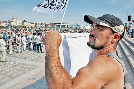 Ваххабиты пытаются превратить Татарстан в часть арабского халифата