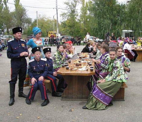 В Национальной деревне состоялся праздник