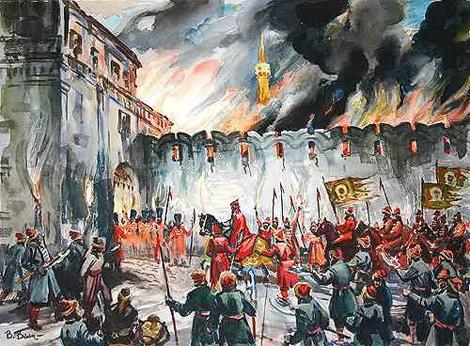 460 лет назад войска Ивана Грозного взяли Казань