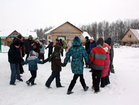 Январская сказка для детей-инвалидов на базе Барсучок