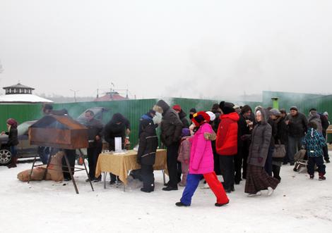 День Святого Трифона в Национальном конном парке РУСЬ