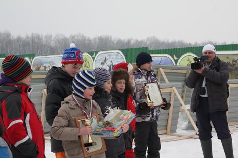 Праздник Святого Трифона в Национальном конном парке «Русь» - награждение победителей конкурса Легенда о белом соколе
