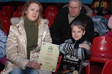 Награждение победителей конкурса «Легенда о белом соколе»