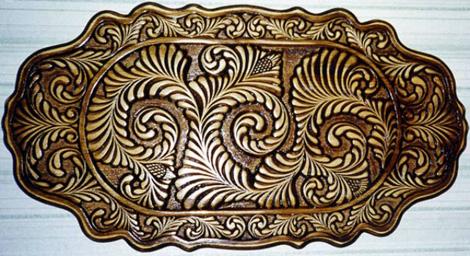 абрамцево-кудринская резьба, хотьковская резьба