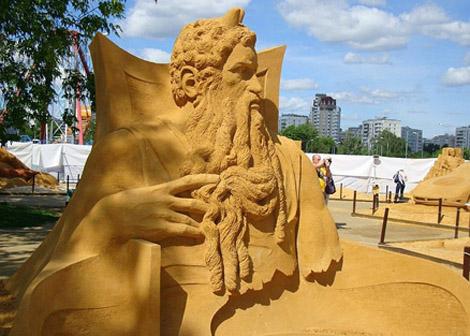 Чемпионат мира по скульптуре из песка на тему «Тайны народов мира».
