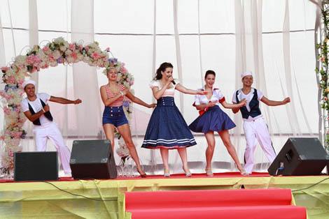 праздник, посвященный Всероссийскому Дню Семьи, Любви и Верности в НКП РУСЬ