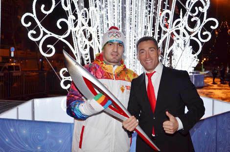 Председатель Правления Национального Фонда Святого Трифона принял участие в церемонии зажжения Олимпийского огня в Самаре