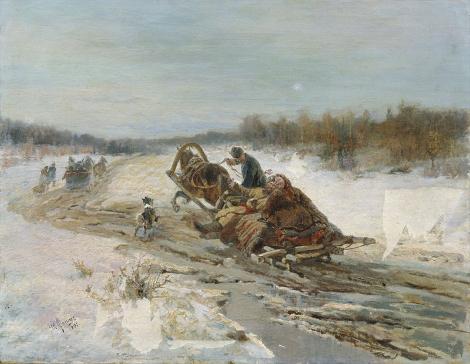 Русские бытописатели