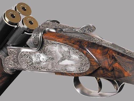 трехствольное ружье