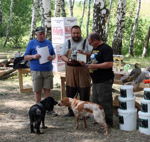 Первенство по охоте с подружейной собакой на призы Национального Фонда Святого Трифона - фото Александр Михайлов