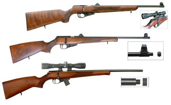 Карабины охотничьи малокалиберные ТОЗ-78 предназначены для профессиональной, любительской охоты и спорта.