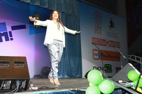 Кульминацией дня стал благотворительный  праздничный концерт для детей–сирот, детей–инвалидов и детей из малообеспеченных семей с участием звезд российской эстрады