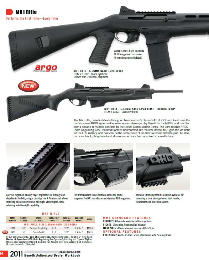 Оружие Бенелли 2011, гладкоствольные ружья Бенелли, Benelli Super Vinci 2011