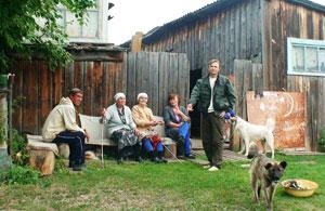 деревни прибайкальской Сибири