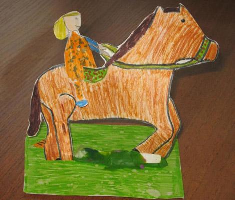 конкурс детского творчества в КСК Левадия