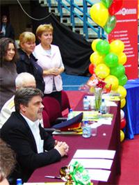 А.Р. Мальчевский на Благотворительной выставке собак