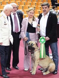 А.Р. Мальчевский и В.В. Пухаев на Благотворительной выставке собак