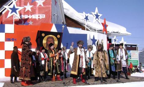 Зимниада, открытие фестиваля