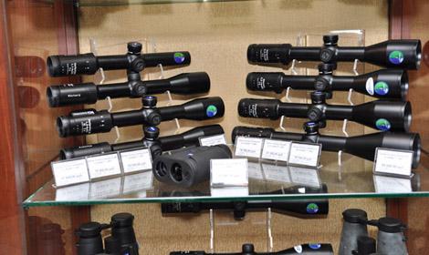 оптика в магазине Охотничий двор