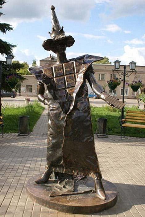 Памятник шоколаду Покров