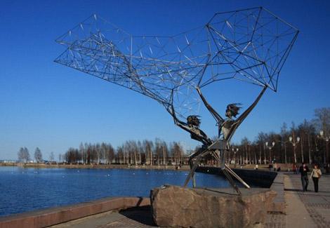 Памятник рыбакам Петрозаводск