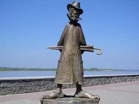 Памятник Чехову Томск