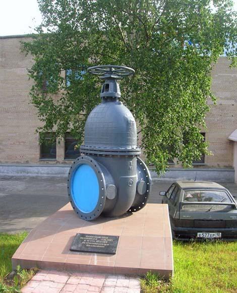 Памятник водопроводному крану Петрозаводск