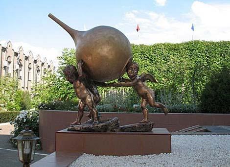 Памятник клизме Железноводск