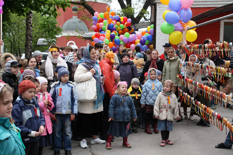 пасхальный праздник для детей