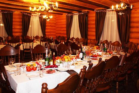 Ресторан на базе Барсучок