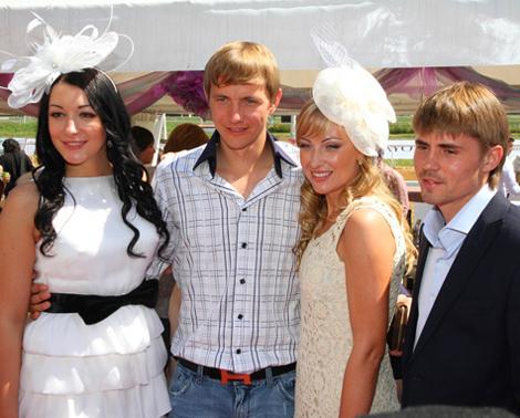 Супруги Павлюченко и Торбинские