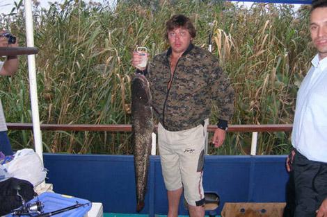 Рыбалка в Дельте Волги на теплоходе Влиятельный
