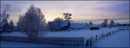 Денис Бурдин, Рождественский вечер в деревне