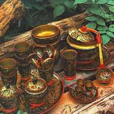 Как обучали мастеров хохломской росписи