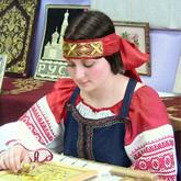Народные промыслы: Золотное шитье