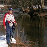 Весенняя рыбалка: На притоках весенних рек
