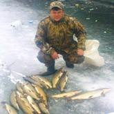 Зимняя рыбалка на Гусином острове (ФОТО)